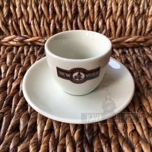 New York šálka ESPRESSO s logom  70 ml